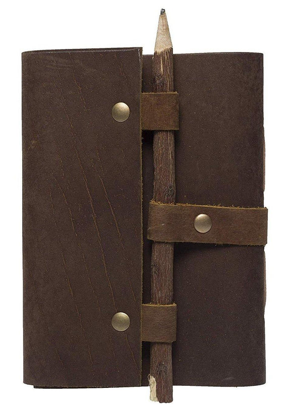 cowhide leather travel journal, best leather journal