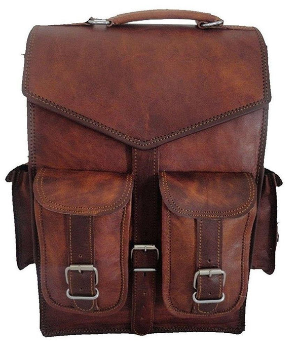 Leather Backpack Laptop 2 in 1 Multipropósito Messenger Bag, luxury leather laptop backpack