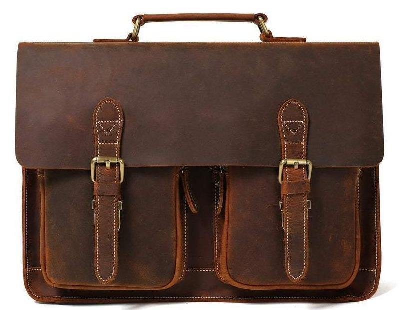 Leather messenger bags for men, Genuine leather bags