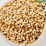 1 Kg Hulled Sesame Seeds-Washed-Dried To Hull
