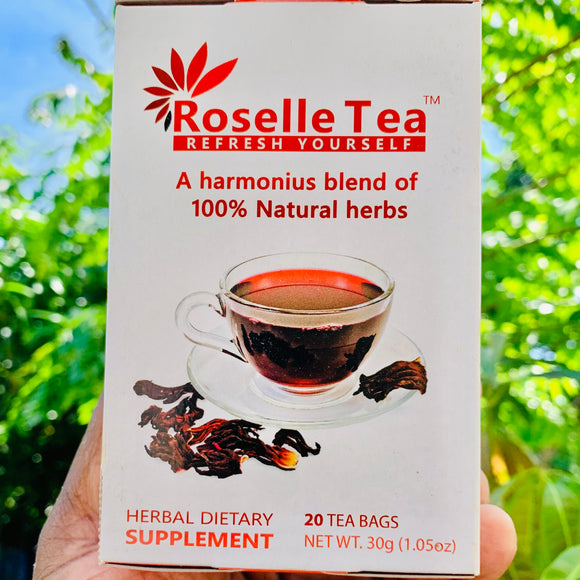 Rosella Tea-20 Tea Bags-30 Grams Pack