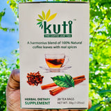Kuti-Coffee-Leaves-Tea-20 Tea Bags-30 Grams Pack