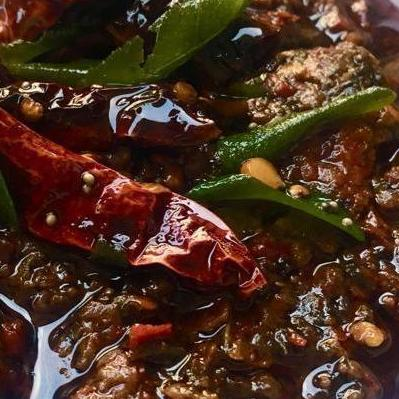 Native Flavors Pickle Gongura Red Chilli Pickle - Native Flavors (NET WT: 400gm)