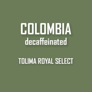 COLOMBIA - TOLIMA ROYAL SELECT