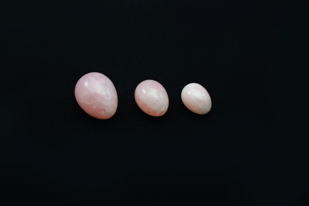 ROSE QUARTZ YONI EGG - ROSIE