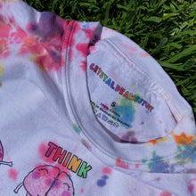 Load image into Gallery viewer, Breathe, Think, Feel (Tie Dye Edition) - Unisex Heavy Cotton Tee