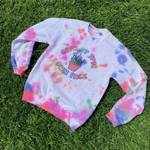 Load image into Gallery viewer, Grow At Your Own Pace (Tie Dye Edition) - Unisex Heavy Blend Crewneck Sweatshirt