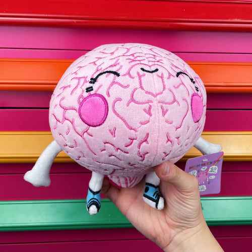 The Weighted Brain Plush - Anxiety Toy