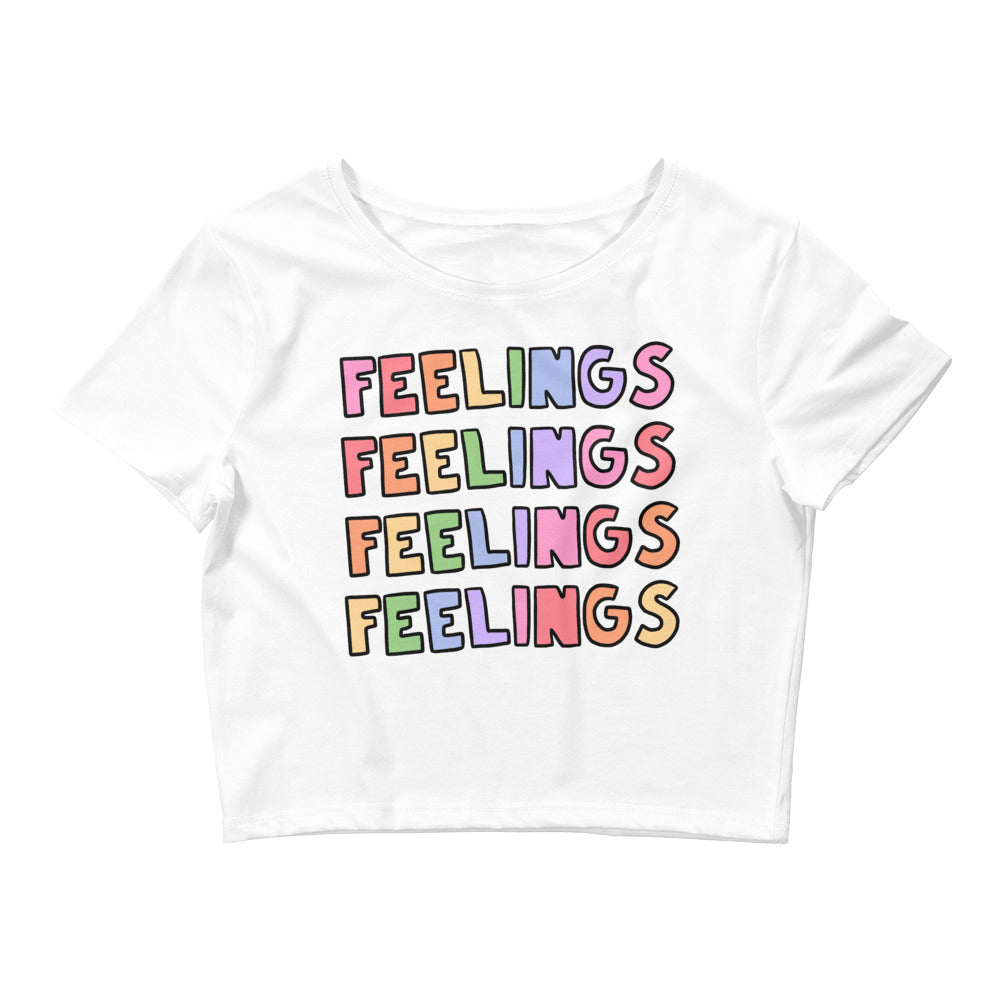 FEELINGS - Crop Tee