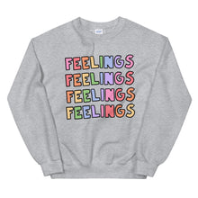 Load image into Gallery viewer, FEELINGS - Unisex Sweatshirt