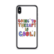 Load image into Gallery viewer, Going To Therapy Is Cool! - iPhone Case