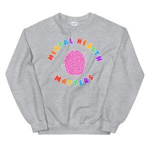 Mental Health Matters (Black Edition) - Unisex Sweatshirt
