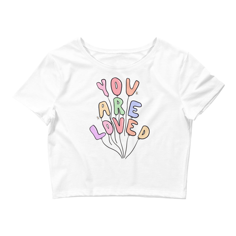 You Are Loved (Pastel Edition) - Crop Tee