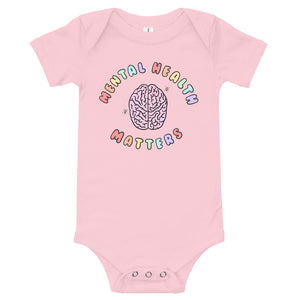 Mental Health Matters - Short Sleeve Onesie
