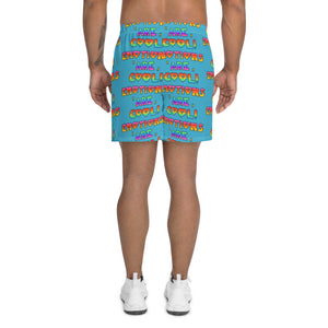 Emotions Are Cool! - Men's Athletic Long Shorts