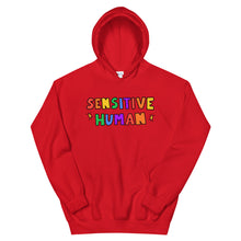 Load image into Gallery viewer, Sensitive Human - Unisex Hoodie