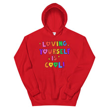 Load image into Gallery viewer, Loving Yourself Is Cool! - Unisex Hoodie