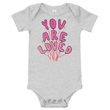 Load image into Gallery viewer, You Are Loved - Short Sleeve Onesie