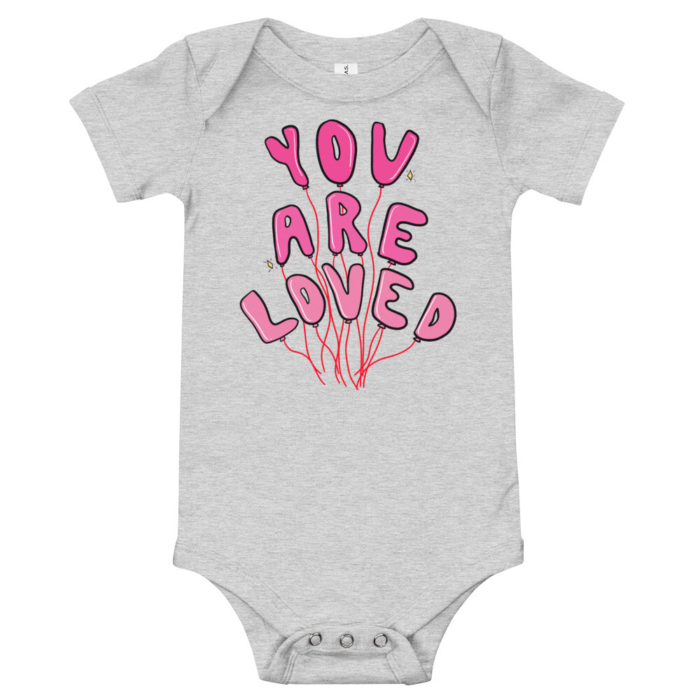 You Are Loved - Short Sleeve Onesie
