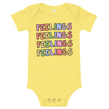 Load image into Gallery viewer, FEELINGS - Short Sleeve Onesie