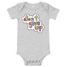 Load image into Gallery viewer, Don't Give Up - Short Sleeve Onesie
