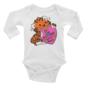 You Are Stronger Than Your Fears! - Infant Long Sleeve Bodysuit