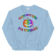 Load image into Gallery viewer, Carve Out Time For Yourself - Unisex Sweatshirt
