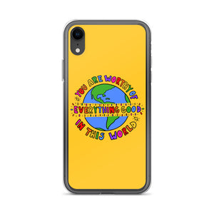 You Are Worthy - iPhone Case