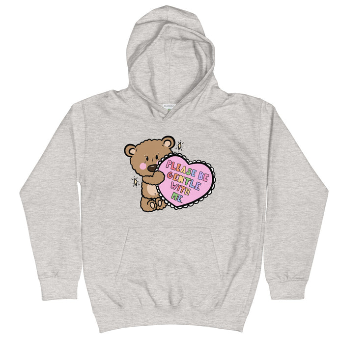 Please Be Gentle With Me - Kids Hoodie