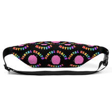 Load image into Gallery viewer, Mental Health Matters (Black Edition) - Fanny Pack