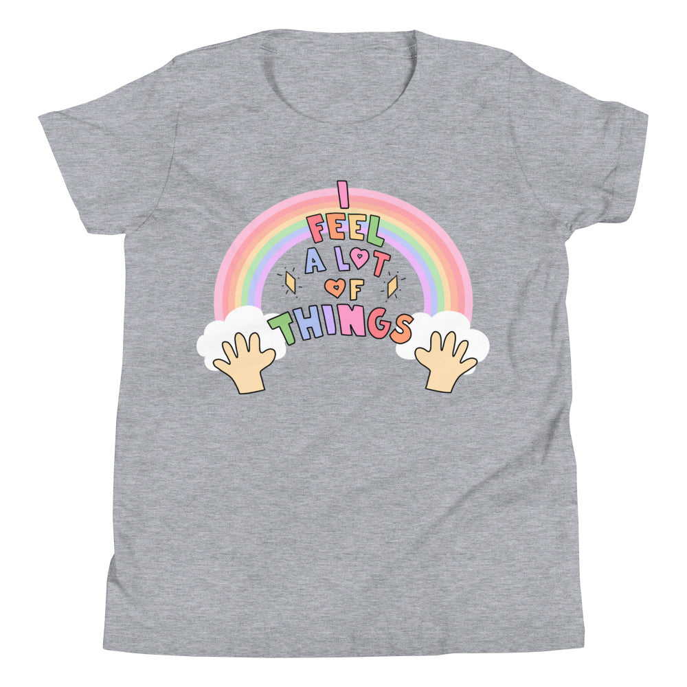 I Feel A lot Of Things - Youth Short Sleeve T-Shirt