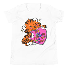 Load image into Gallery viewer, You Are Stronger Than Your Fears! - Youth Short Sleeve T-Shirt