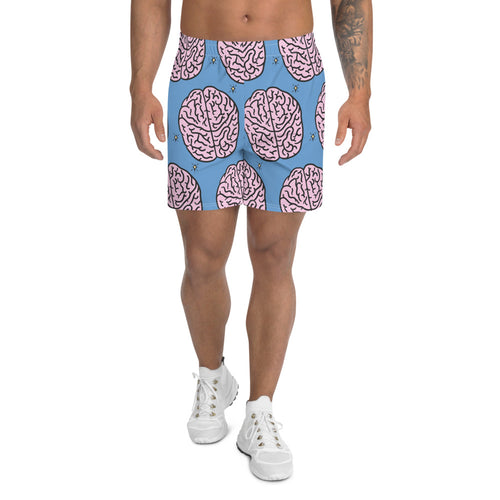Brain - Men's Athletic Long Shorts