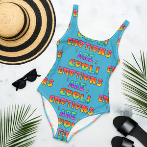 Emotions Are Cool!  - One-Piece Swimsuit
