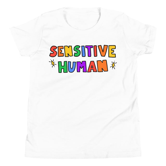 Sensitive Human - Youth Short Sleeve T-Shirt