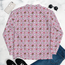 Load image into Gallery viewer, Hearts, Rainbows, Clouds and Stars (Pink) - Unisex Bomber Jacket