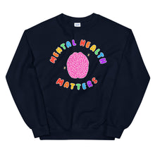 Load image into Gallery viewer, Mental Health Matters (Black Edition) - Unisex Sweatshirt
