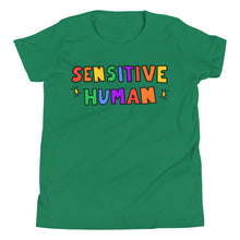 Load image into Gallery viewer, Sensitive Human - Youth Short Sleeve T-Shirt