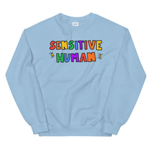 Load image into Gallery viewer, Sensitive Human - Unisex Sweatshirt