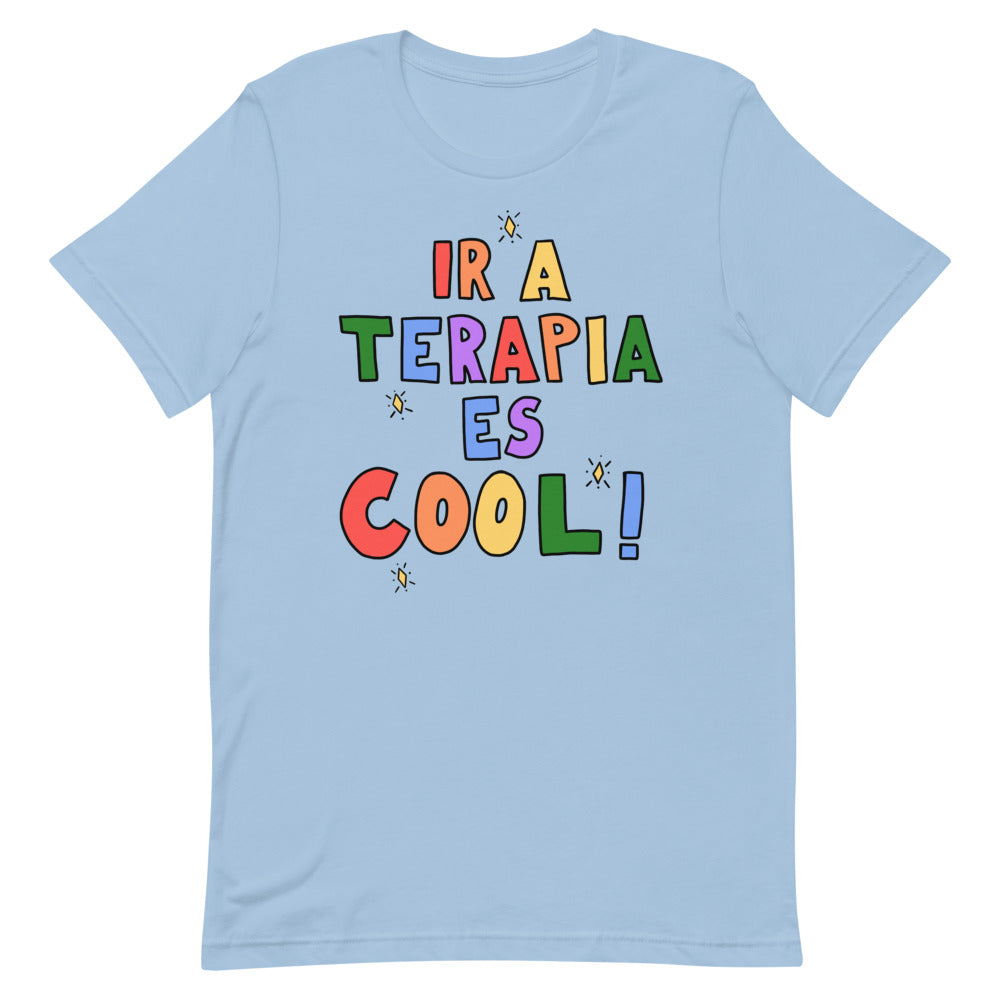 Ir A Terapia Es Cool! - Short-Sleeve Unisex T-Shirt