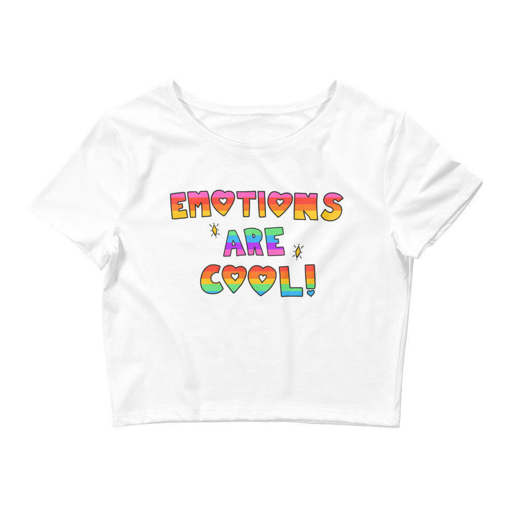Emotions Are Cool! - Crop Tee