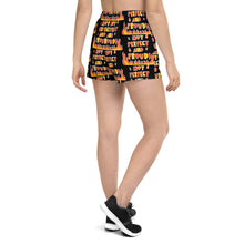 Load image into Gallery viewer, Not Perfect And Proud! - Women's Athletic Short Shorts