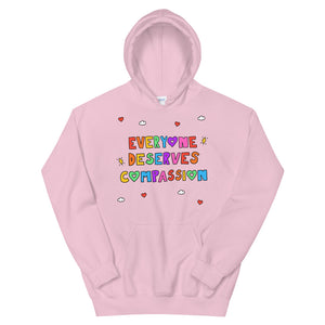 Everyone Deserves Compassion - Unisex Hoodie