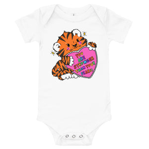 You Are Stronger Than Your Fears! - Short Sleeve Onesie