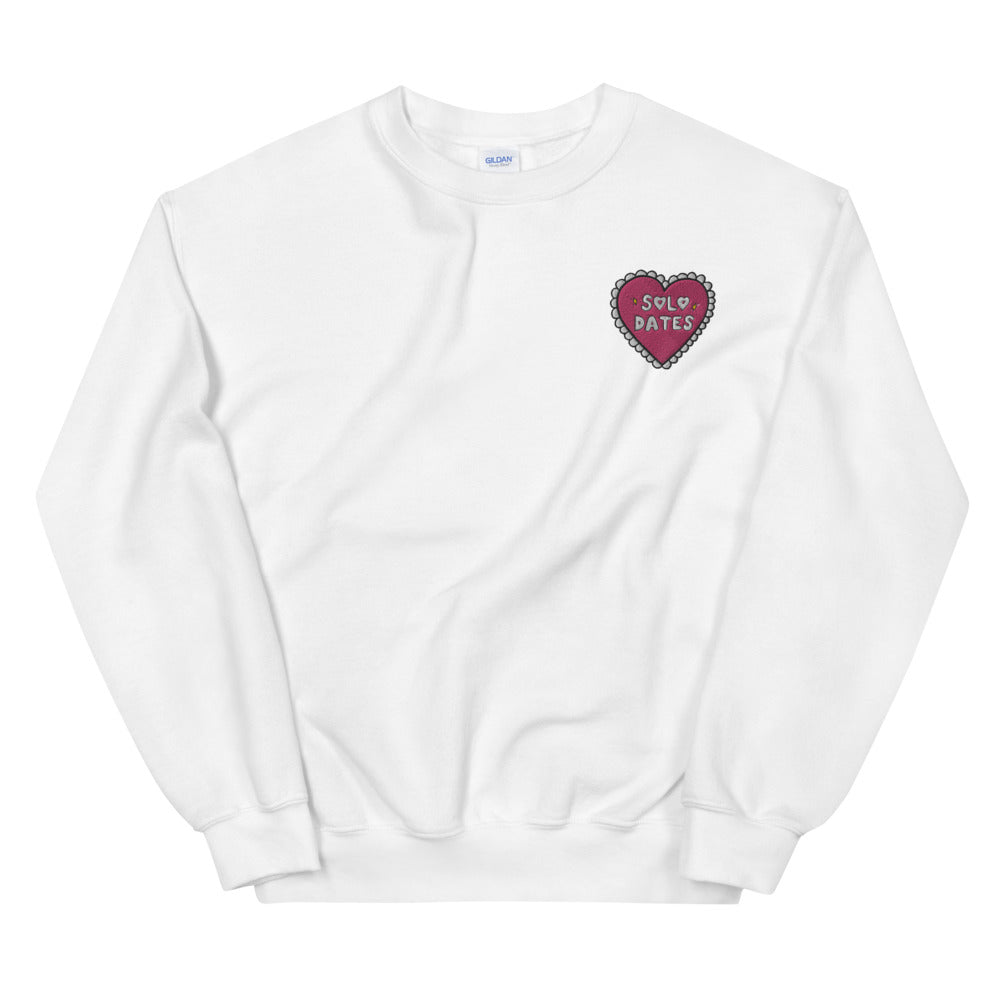 Solo Dates (Embroidered Edition) - Unisex Sweatshirt
