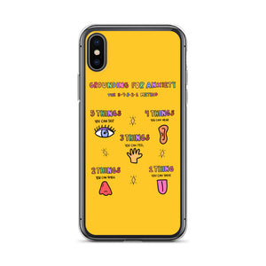 Grounding For Anxiety - iPhone Case