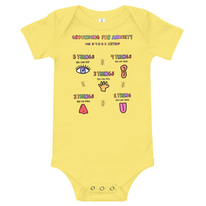 Grounding For Anxiety - Short Sleeve Onesie