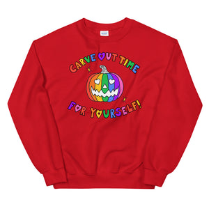 Carve Out Time For Yourself - Unisex Sweatshirt