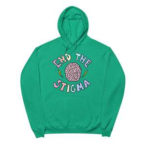 End The Stigma - Unisex Fleece Hoodie