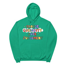 Load image into Gallery viewer, Choose Curiosity - Unisex Fleece Hoodie